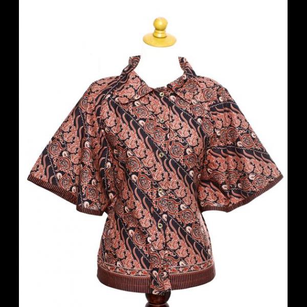 Baju gamis dengan kerah kelelawar nona taylor Baju gamis santai