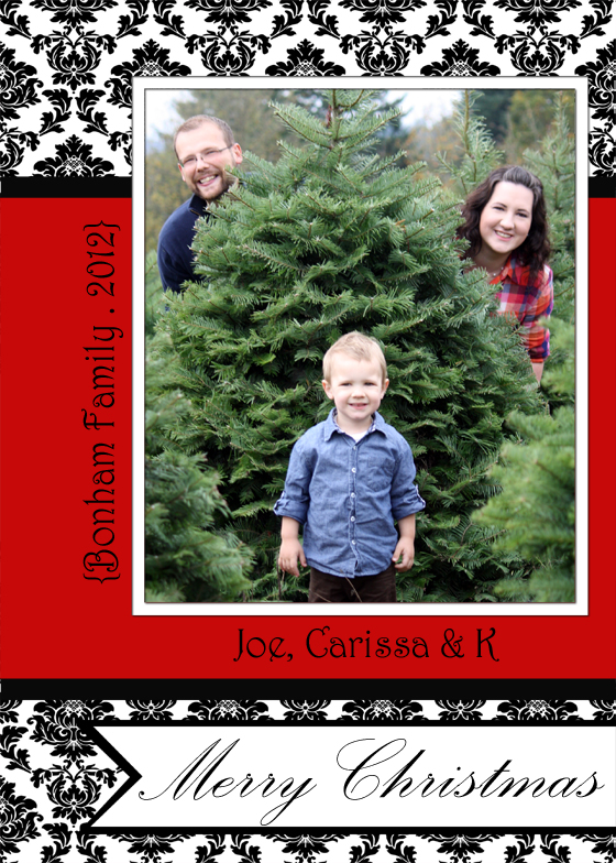 Free Christmas Card Templates - Creative Green Living