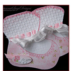 Template ballet slipper book box crayon box baby booties template