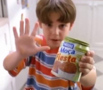 Moça Fiesta (Nestlé) propaganda de lançamento em 1999