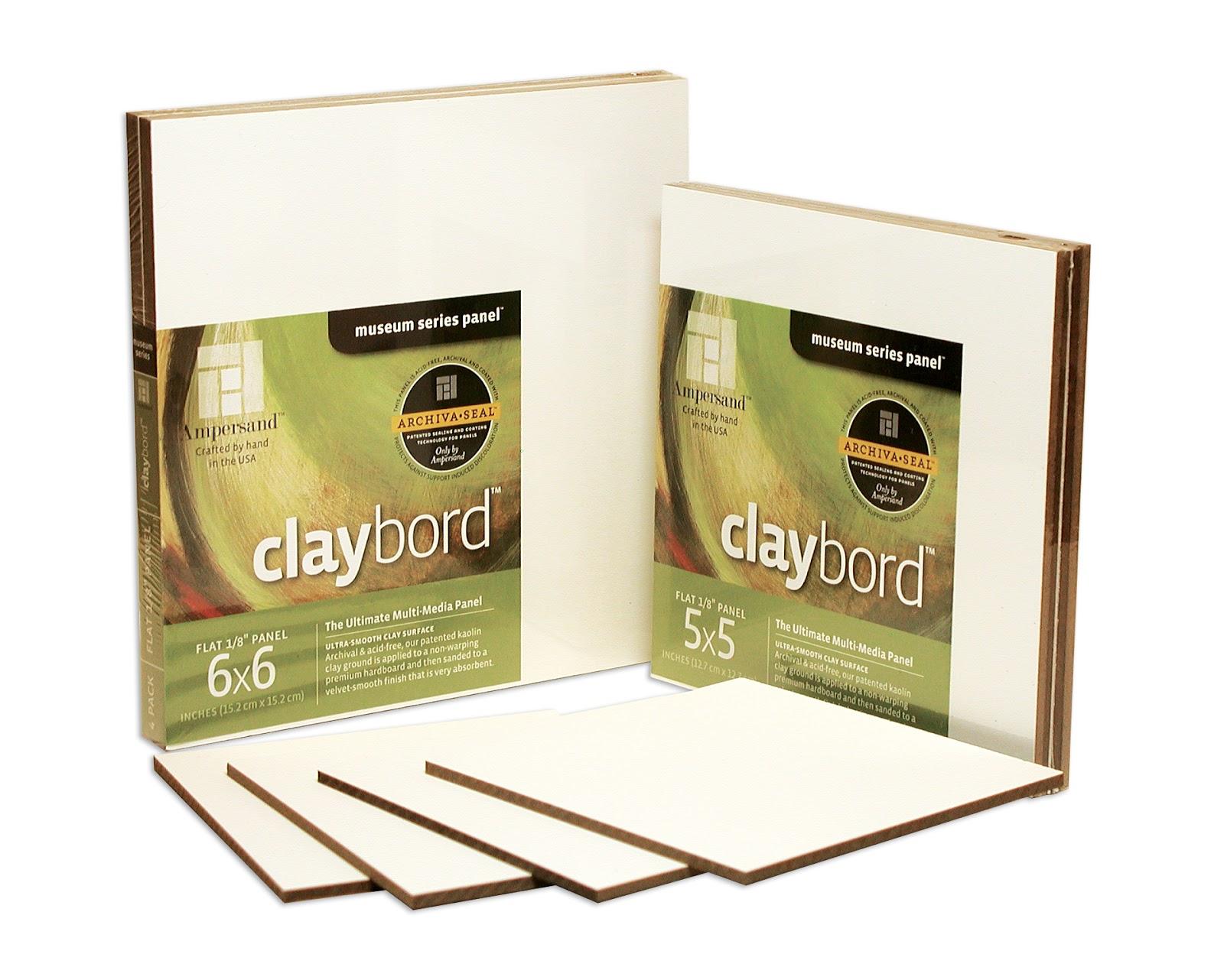 Ampersand Claybord