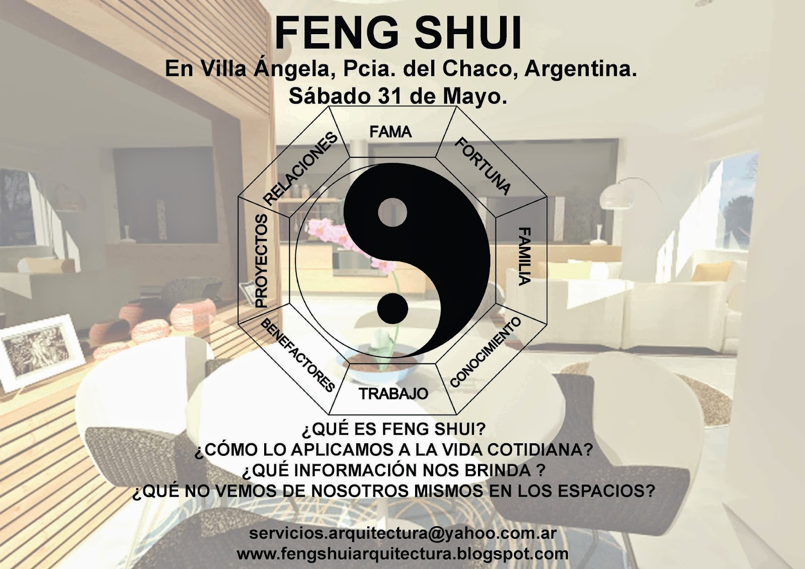 Arquitectura y feng shui feng shui en villa ngela - Arquitectura y feng shui ...