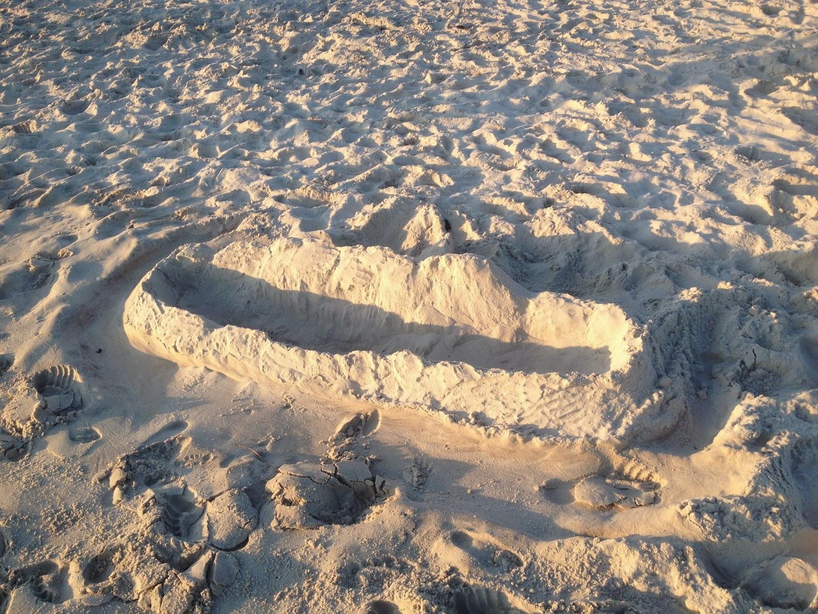 muro en la arena