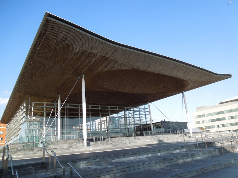 Welsh Assembly Building Cardiff Bay