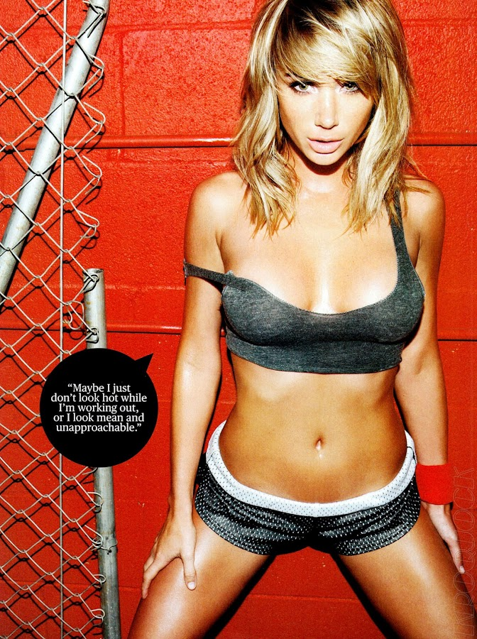 Sara Jean Underwood looks so hot in this photo from June 2012 Men's Fitness Magazine