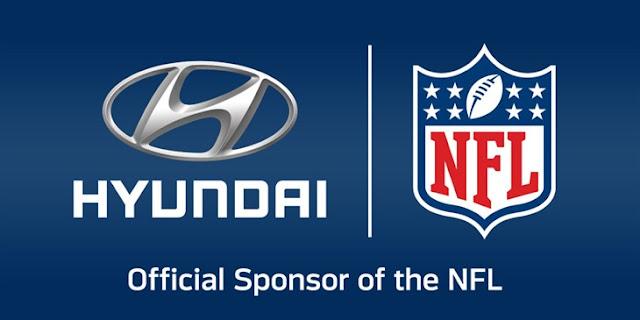 Hyundai Officlal NFL Sponsor logo