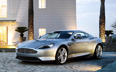 2013 Aston Martin DB9 Silver Car Pictures
