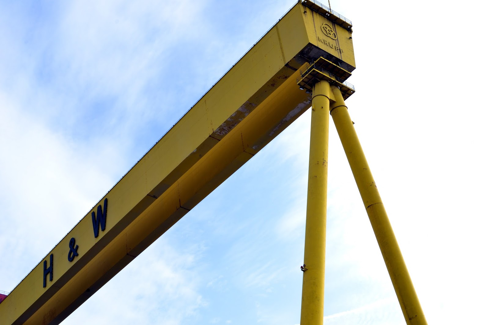 Samson and Goliath, Belfast, Ireland, Northern Ireland, Murals, Troubles, Ulster, Political, Titanic,