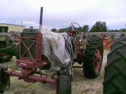 International 560 used tractor parts