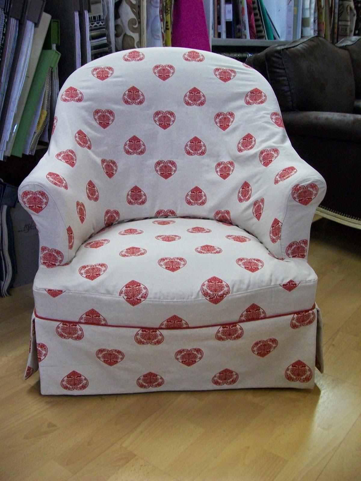 L 39 housse de fauteuil crapauds - Tissu pour fauteuil crapaud ...