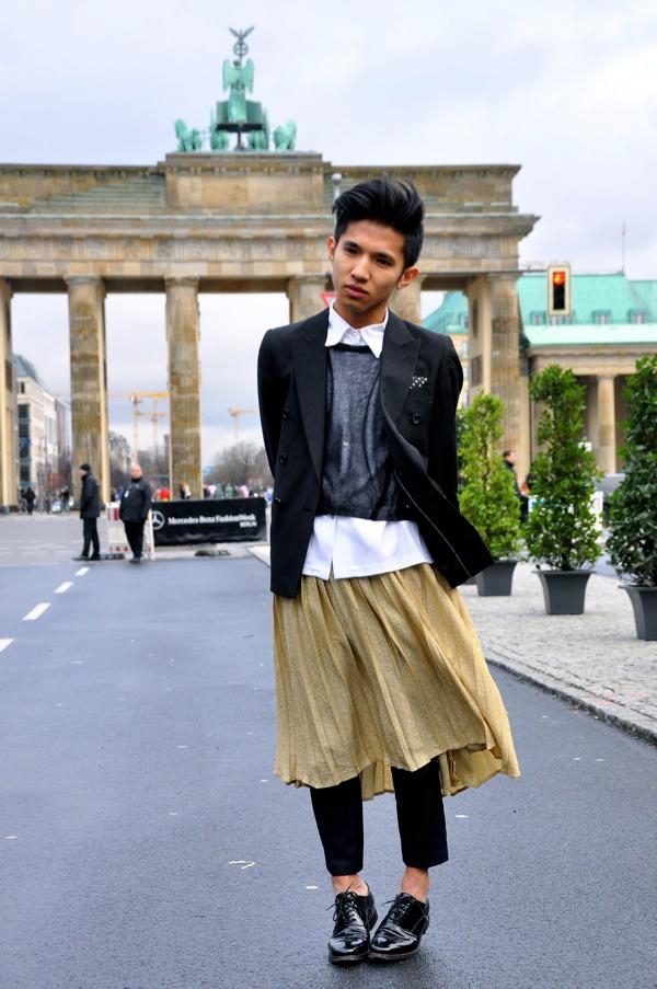 Men S Style At Berlin Fashion Week Street Style By Stela