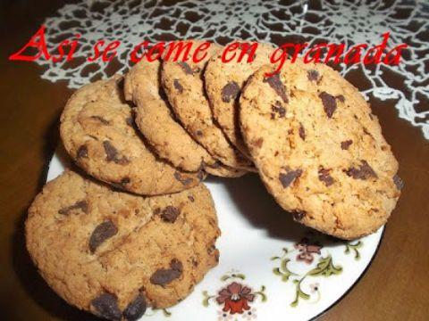 Galletas integrales y sin azúcar