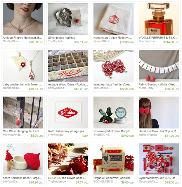 Crimson Gift Guide #holiday #crimson #christmas #red #gifts