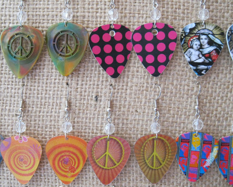 Making Guitar Pick Jewelry