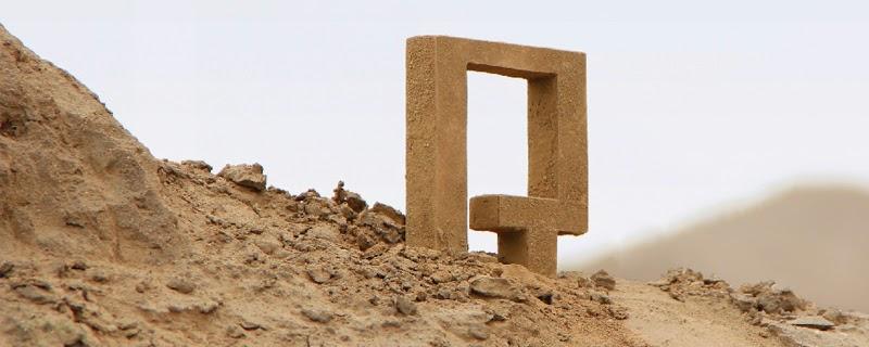 Waka tipografía inspirada en el Perú milenario