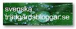 Jag finns med på Svenska trädgårdsbloggar
