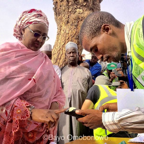 #Nigeriandecides: How dignitaries, celebrities across Nigeria cast their votes today