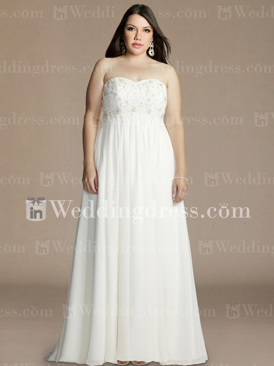 Second Hand Plus Size Wedding Dresses 95