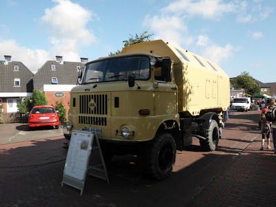 IFA (DDR) - Truck des Truckteams NF