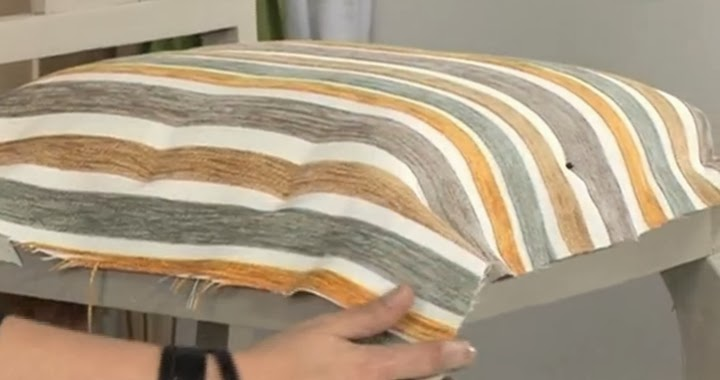 Marzua c mo tapizar una silla - Materiales para tapizar ...