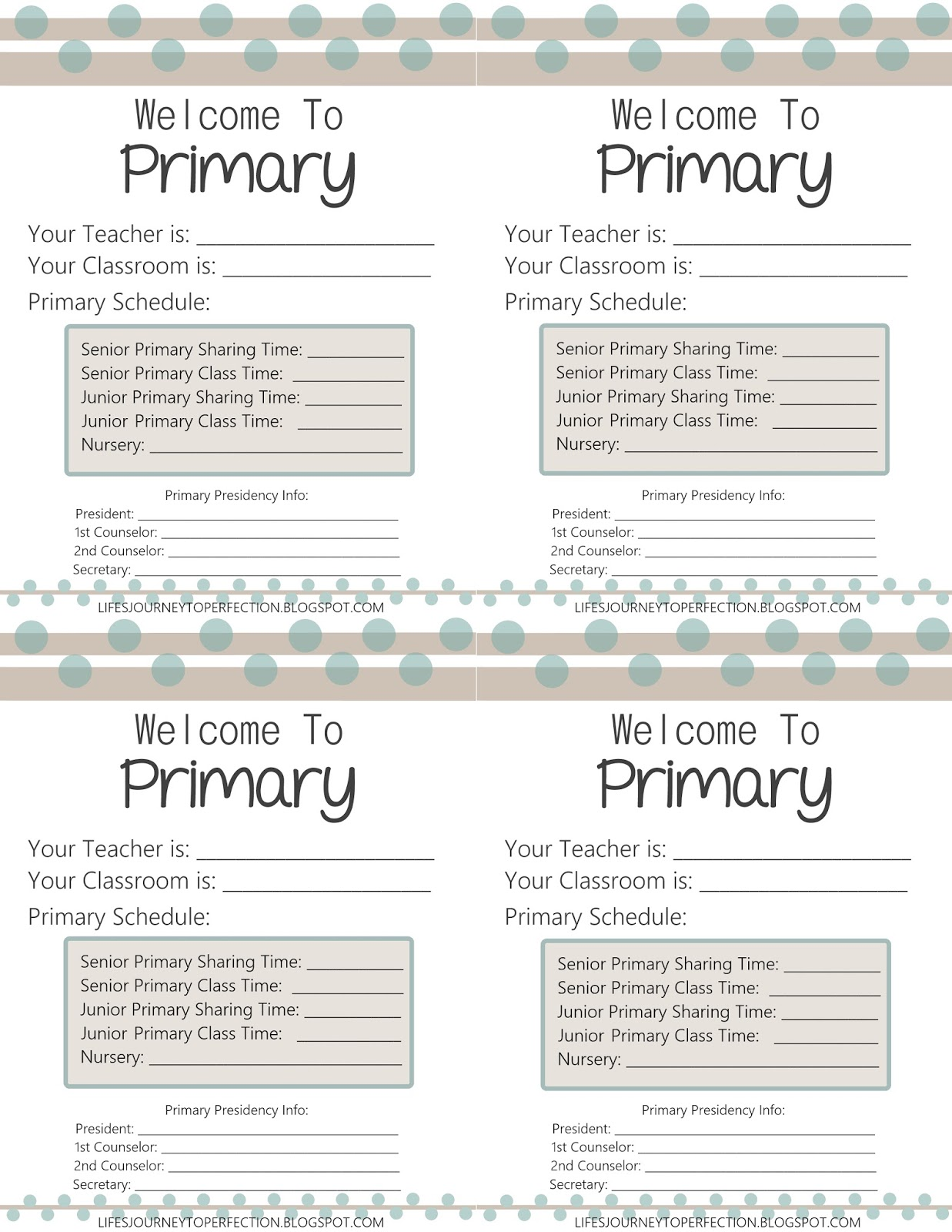 Life's Journey To Perfection: 2016 LDS Primary Theme Ideas and Free ...