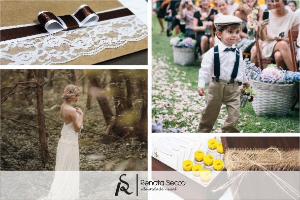 Convite de Casamento Londrina - Identidade Visual Casamento - Rústico