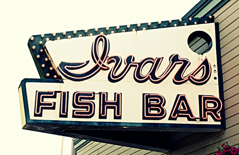 ivars fish bar seattle pacific northwest travel photography