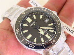 SEIKO DIVER REISSUE 6217 BLACK DIAL - SEIKO SBDC051J1 - AUTOMATIC 6R15 - BRAND NEW WATCH