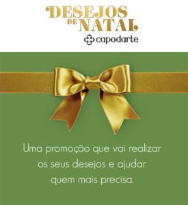 Cadastrar promoção Capodarte Desejos de Natal