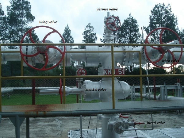 Kepala Sumur Pada Sumur Geothermal