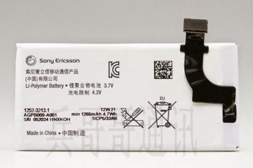 100% Original Genuine Battery For Sony LT22i Xperia P 1265MA