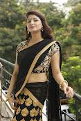 Sagarika glamorous photos in saree-thumbnail-17