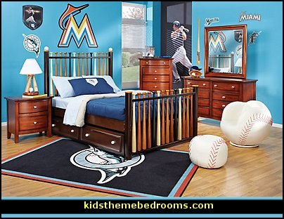 Modern House Plans Baseball Bedroom Decorating Ideas