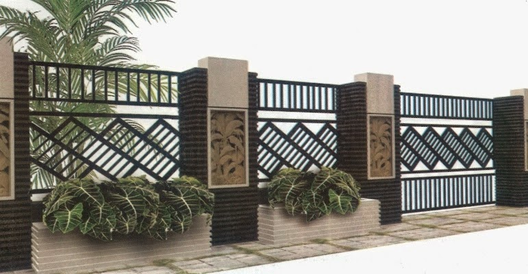 Maka dari itu, jangan asal memilih pagar rumah sederhana, minimalis type 36 terkini, tapi harus sesuai dengan reka bentuk keduanya