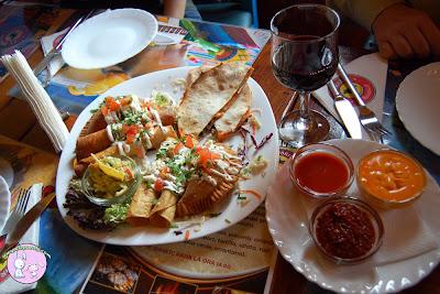 Un rasfat in stil mexican la El Torito