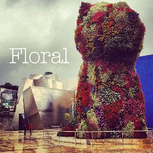 floral instagram image