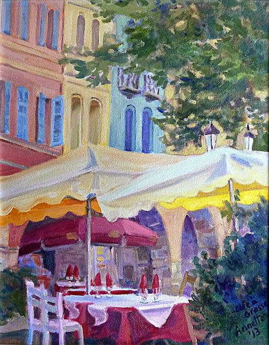 Café à Grasse