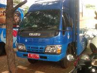 Pengiriman Bus B 9671 POU Jakarta ke Manado