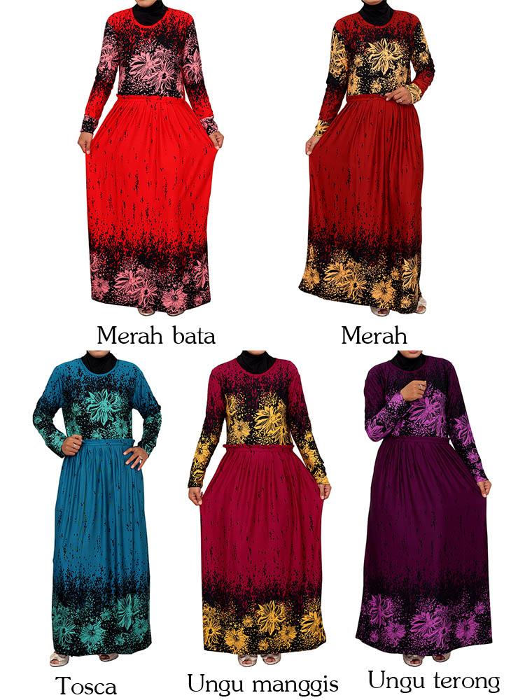 Baju Gamis Online Murah Muslim Aneka Pictures Jual Baju