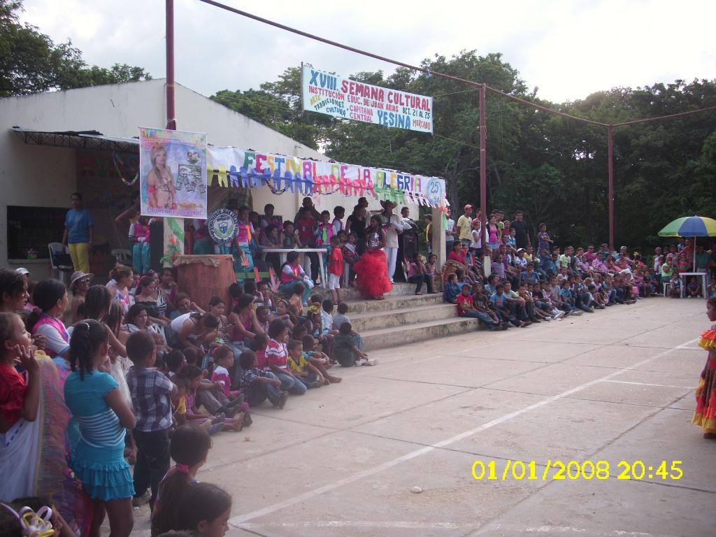 COMUNIDAD DE JUAN ARIAS BOLVAR 2012