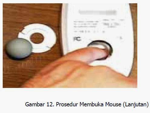prosedur membuka mouse langkah 2