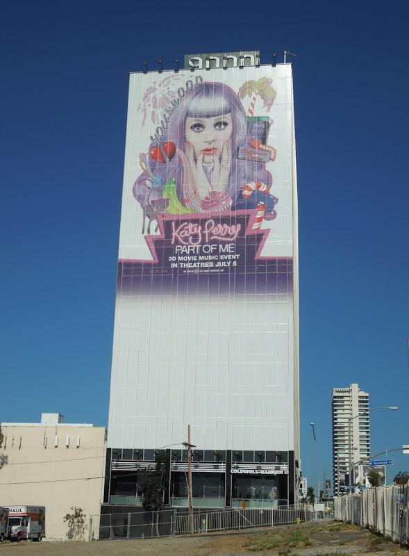 Katy Perry Part of Me movie billboard