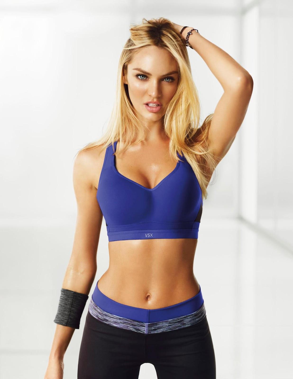 Candice Swanepoel Yoga Pants