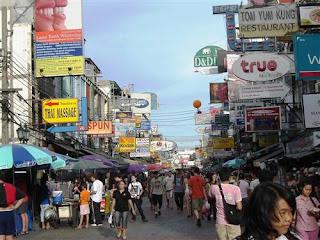 khaosan road backpacker bangkok