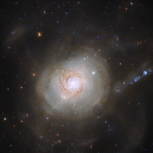 Atoms for Peace: Spiral Galaxy NGC 7252