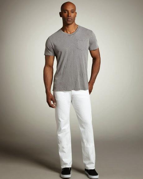 White Jeans For Men How To Wear White Jeans For Men