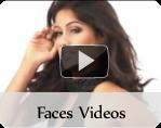 Fashion faces videos