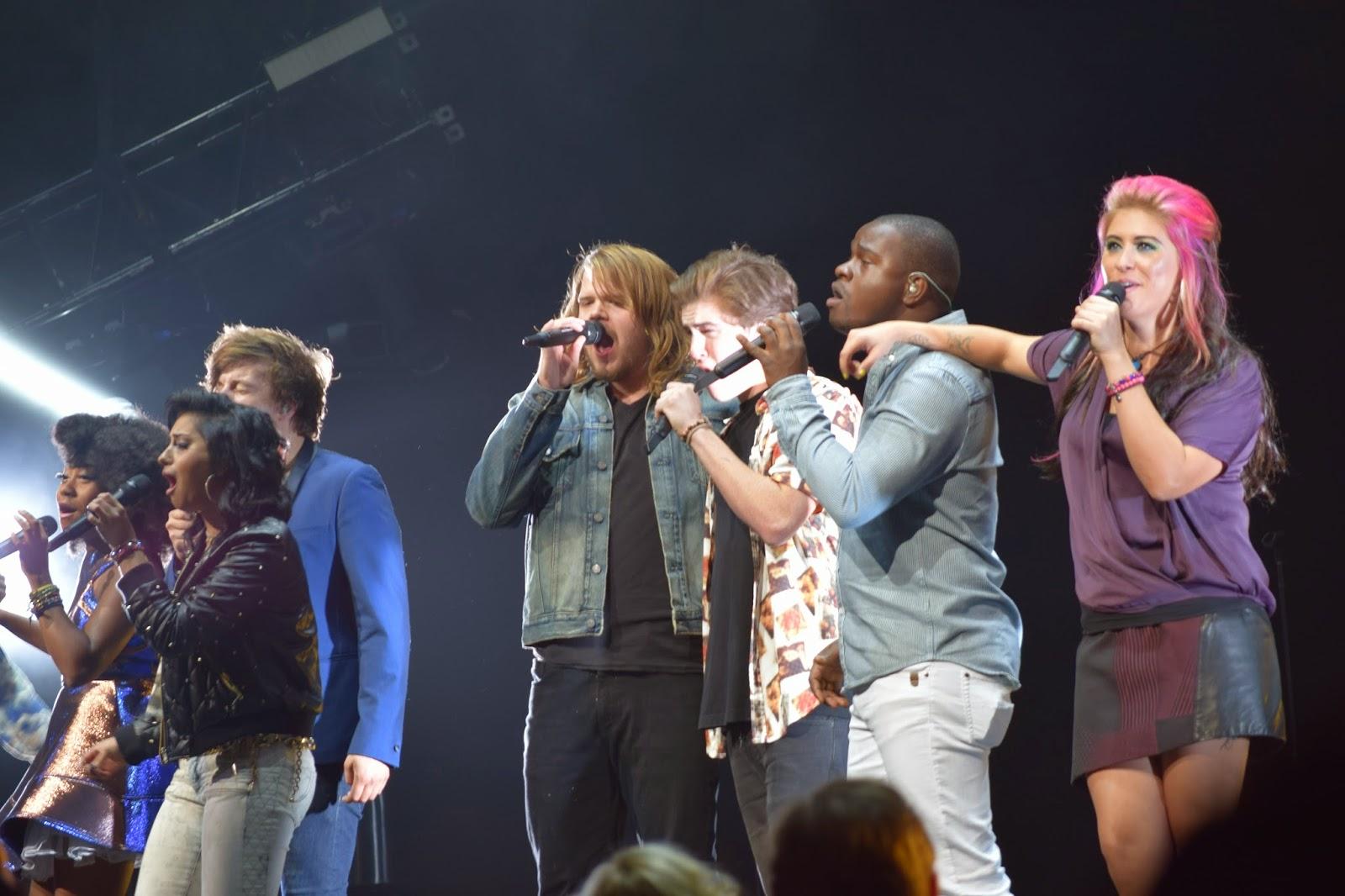 American Idol Tour IdolTweethearts