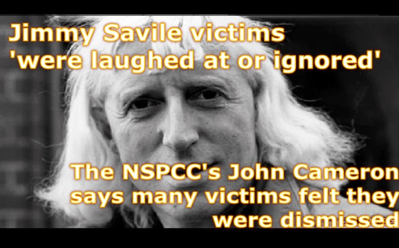 Jimmy Savile victims 'were laughed at or ignored'