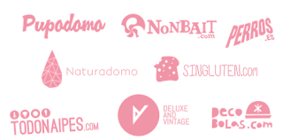 """Captura de pantalla de """"Logotipos de las tiendas de Nolatan"""" - Fuente: http://www.nolatan.com"""